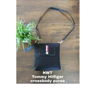 NWT Canvas Tommy Hilfiger Crossbody Purse xbody